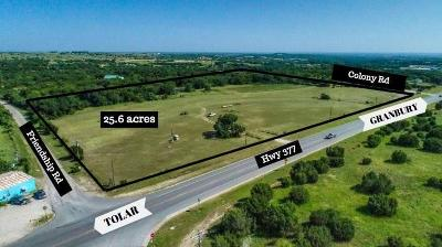 Hood County Farm & Ranch For Sale: 5000 W 377 Highway