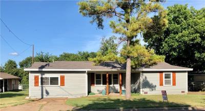 Sherman Single Family Home For Sale: 1111 S Vaden Street