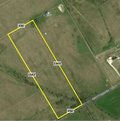 Farm & Ranch For Sale: Derrs Chapel Road