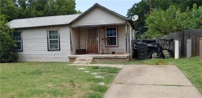 Fort Worth Single Family Home For Sale: 5013 Fitzhugh Avenue
