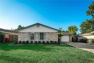 Royse City Single Family Home Active Contingent: 820 Meadowdale Drive