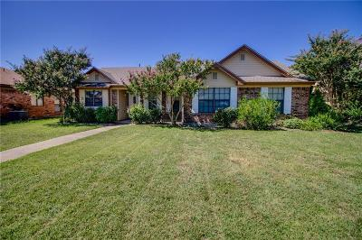 Wylie Single Family Home Active Option Contract: 1311 Devonshire Lane