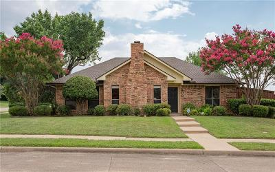 Coppell Single Family Home Active Option Contract: 500 Winetree Court