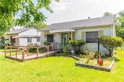 Dallas Single Family Home For Sale: 3314 Nebraska Avenue