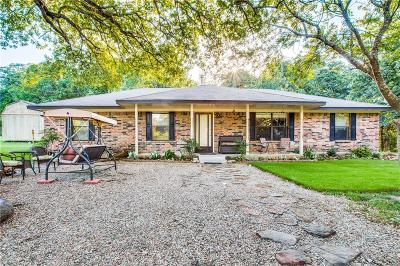 Cooke County Single Family Home Active Option Contract: 823 Woodbine Estates Road