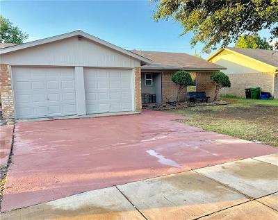 North Richland Hills Single Family Home For Sale: 8229 Saint Patrick Street