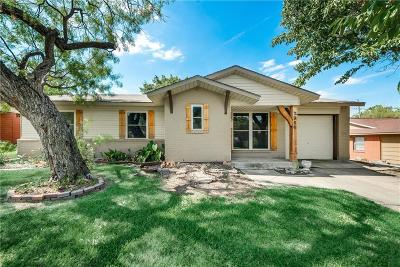 Farmers Branch Single Family Home Active Option Contract: 2966 Oxfordshire Lane