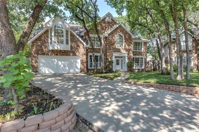 Grapevine Single Family Home For Sale: 535 Woodhill Court