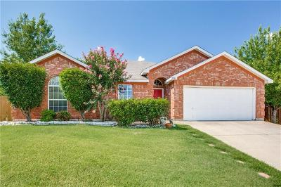 Arlington Single Family Home Active Contingent: 7933 Rattlers Court