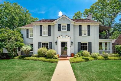 Single Family Home For Sale: 2817 Alton Road