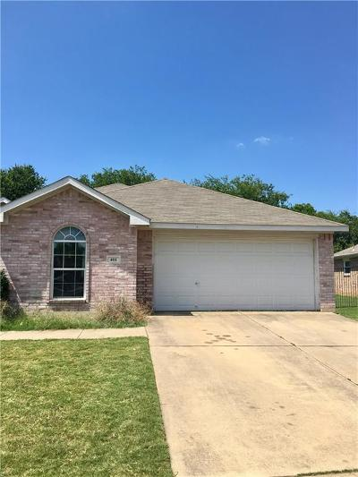 Archer County, Baylor County, Clay County, Jack County, Throckmorton County, Wichita County, Wise County Single Family Home For Sale: 401 Troxell Boulevard