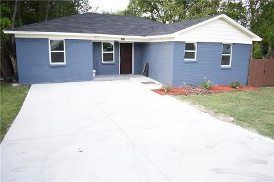 Mesquite Single Family Home For Sale: 1501 W Bruton Road