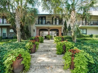 Dallas Condo For Sale: 5816 Birchbrook Drive #119