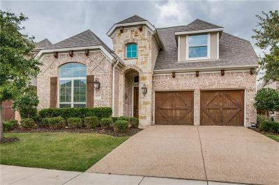 The Colony Single Family Home Active Option Contract: 8312 Inverness