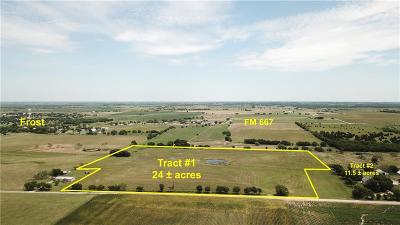 Angus, Barry, Blooming Grove, Chatfield, Corsicana, Dawson, Emhouse, Eureka, Frost, Hubbard, Kerens, Mildred, Navarro, No City, Powell, Purdon, Rice, Richland, Streetman, Wortham Farm & Ranch For Sale: 8248 NW County Road 4130