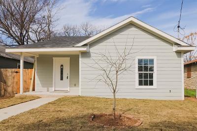 Dallas Single Family Home For Sale: 2835 Frost Avenue