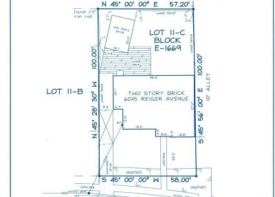 Dallas County Residential Lots & Land For Sale: 6045 Reiger Avenue