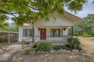 Weatherford Single Family Home Active Option Contract: 950 Scott Road