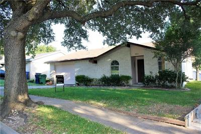 Garland Single Family Home For Sale: 4261 Hartford Drive