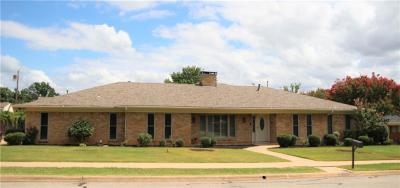 Sherman Single Family Home For Sale: 1602 Crescent Drive