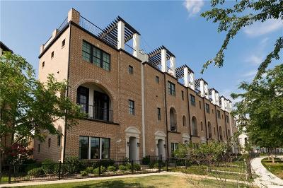 Irving Townhouse For Sale: 708 Sid Rich Drive