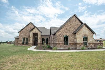 Springtown Single Family Home Active Contingent: 157 Spring Meadow Drive