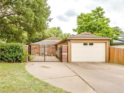Tarrant County Single Family Home Active Option Contract: 4412 Timber Run Drive