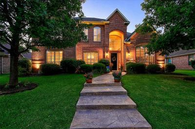 Allen Single Family Home Active Contingent: 605 Uvalde Court