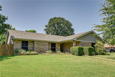 Arlington Single Family Home Active Option Contract: 4900 Stage Line Drive