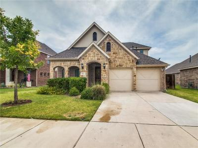 Little Elm Single Family Home For Sale: 1512 Martin Creek Drive