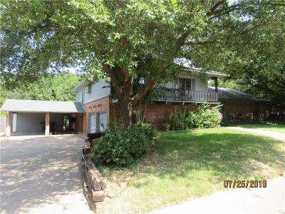 Sherman Single Family Home For Sale: 1625 Crescent Drive