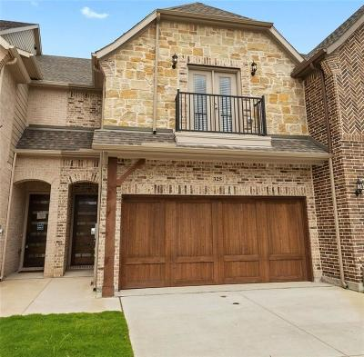 Wylie Townhouse For Sale: 325 Featherstone Trail