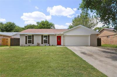 Mesquite Single Family Home For Sale: 1632 Bette Drive