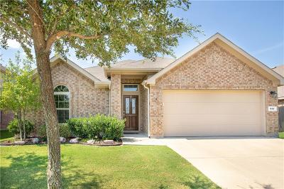 Burleson Single Family Home Active Option Contract: 933 Misty Oak Trail