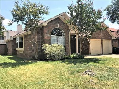 Lewisville Single Family Home For Sale: 2021 Frontier Trail