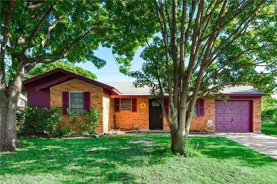 Euless Single Family Home Active Option Contract: 402 Westwood Drive