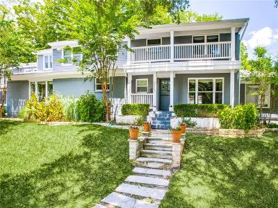 Single Family Home For Sale: 6915 Lakeshore Drive