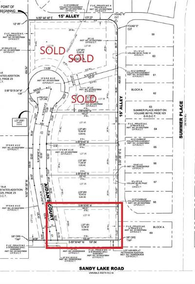 Coppell Residential Lots & Land For Sale: 104 Aidans Court