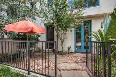 Dallas County Condo For Sale: 4406 Bowser Avenue #8
