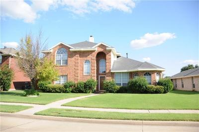 Allen Single Family Home For Sale: 1404 Lombardy Way
