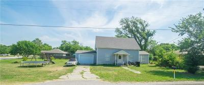 Krum Single Family Home Active Option Contract: 518 W McCart Street
