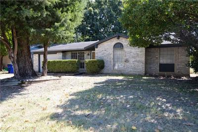Balch Springs Single Family Home Active Contingent: 14333 Carla Drive