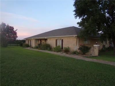 Navarro County Single Family Home Active Option Contract: 5123 NW Fm 744
