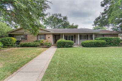 Single Family Home Active Option Contract: 3940 Circle Bluff Court