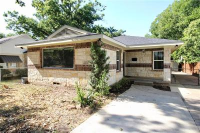 Dallas Single Family Home For Sale: 1231 Wilbur Street