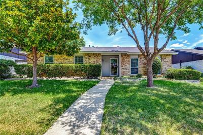 Dallas County Single Family Home Active Option Contract: 11037 McCree Road