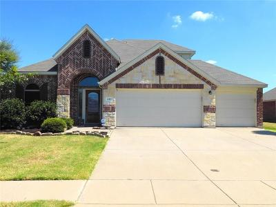 Forney Single Family Home For Sale: 240 Wolf Drive