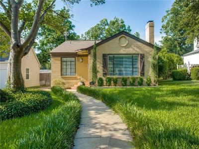 Arlington Heights Single Family Home For Sale: 4229 Calmont Avenue