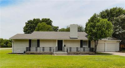 Fort Worth Single Family Home For Sale: 3601 Dryden Road