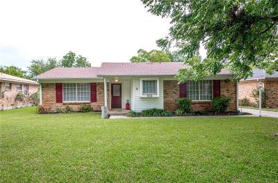 Denton Single Family Home For Sale: 1712 Cordell Street